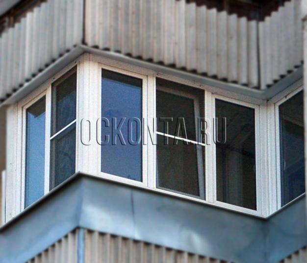 Остекление балконов копэ..