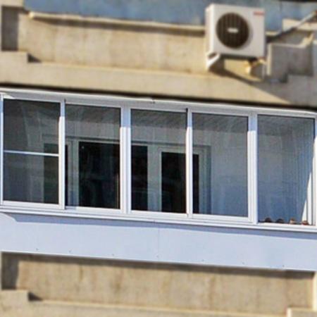 Фото остекления балконов и лоджий - фотогалерея.