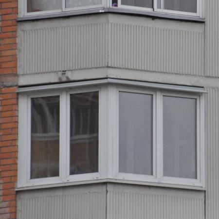 Фото остекление балкона утюжок п-44т - фотогалерея.