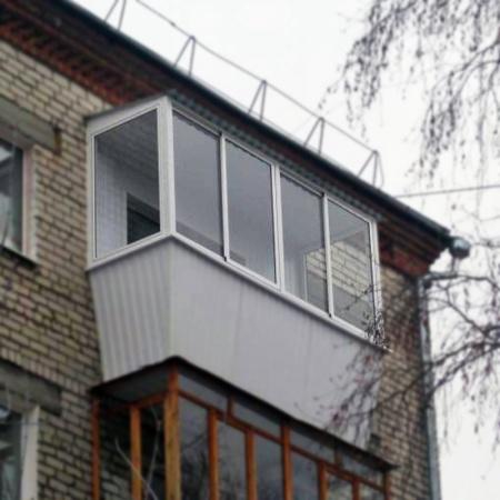 Остекление балконов и лоджий под ключ цены в москве.