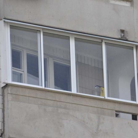 Фото остекления балкона лодочка п-44 - фотогалерея.