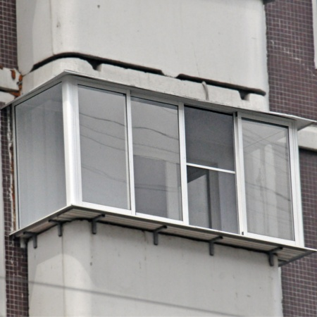 Фото остекления балконов и лоджий в домах серии копэ и копэ-.
