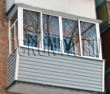 Теплый балкон под ключ цена в москве.