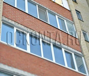 Остекление лоджий 6 метров цены в москве.